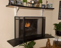wonderful modern fireplace screens glass modern fireplace
