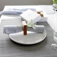how to set a table with napkin rings napkin rings table linen hop peck