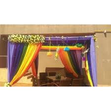 Bengali Mandap Decorations Wedding Flower Mandap Decoration Service In Alandi Pune Tamhane