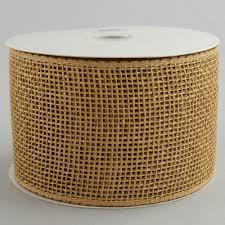 wide mesh ribbon 4 poly deco mesh ribbon poly burlap rs2081y1 craftoutlet