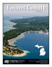 State Of Michigan Plat Maps by New Emmet County Plat Books Now Available For Purchase Emmet County