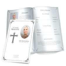 funeral booklets template funeral booklets template black white memorial program