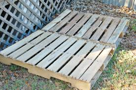 diy herb garden with a recycled wood pallet patio gardens