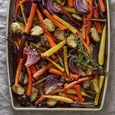 roasted vegetable salad with cider vinaigrette recipes pered