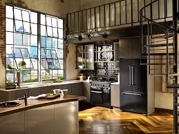 apartments appealing beautiful industrial kitchen design