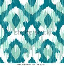 abstract ethnic ikat pattern background traditional stock vector