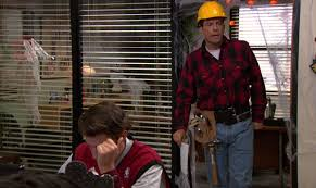 Construction Worker Costume How To Accessorize Like Andy Bernard The Office Tv Style Guide