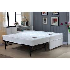 Single Bed Frame And Mattress Deals King Single White Bed Frame W Trundle 2 Mattresses Single Bed