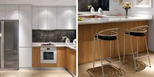 how to clean white melamine kitchen cabinets modern white matte lacquer and wood grain melamine kitchen