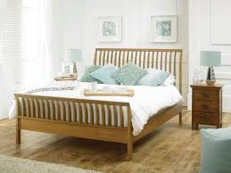 Bed Frames Oak Bedroom With White Walls And Oak Bed Frame Wood Oak Bed Frames