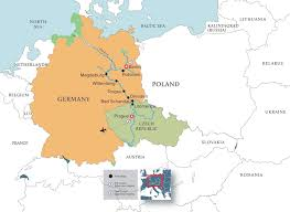 Yellow River On World Map by East Meets West The Link Up On The Elbe The National Wwii