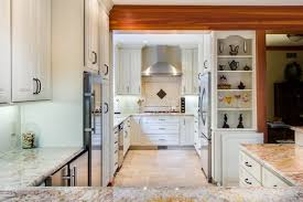ravishing kitchen design contemporary with white laminated