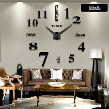 Metal Letters Home Decor by Home Decoration Wall Clock