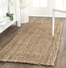 Jute Bath Mat Safavieh Fiber Collection Nf447a Woven