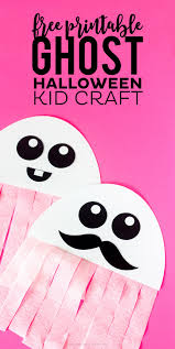 Halloween Craft Templates by Free Printable Ghost Halloween Craft Crush This Would Be A Great