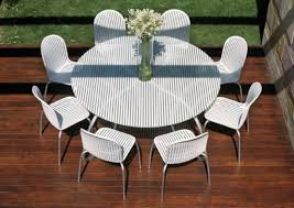 nice white patio table elegant chairs designs wicker furniture