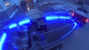 boat led strip lights led strip lighting for my ranger z21 bass boat youtube