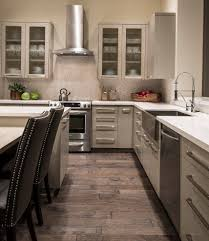 armstrong cabinets for a contemporary kitchen with a tile kitchen