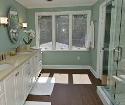 bathroom tile backsplash ideas dark green ceramic tile green