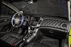 Car Modifications Interior Modified Chevrolet Cruze 2nd Generation Interior Dashboard And