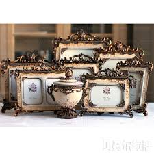 buy princess royal vintage baroque art 8 piece set resin photo