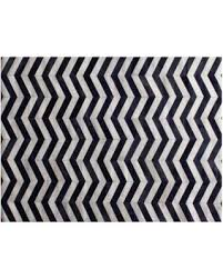 Hair On Hide Rug Here U0027s A Great Deal On Exquisite Rugs Chevron Hide Navy Blue