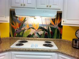 kitchen window backsplash faux window tiles tropical tile murals and more pacifica tile
