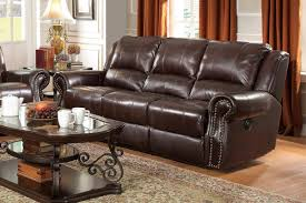 Top Grain Leather Reclining Sofa Top Grain Leather Sofa Home Design Ideas Throughout Reclining