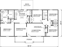 Four Bedroom Home Designs Modern Makeover And Decorations Ideas Single Floor 4 Bedroom