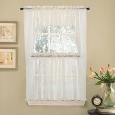 Kitchen Tier Curtains by Elegant Kitchen Window Curtains Caurora Com Just All About Windows