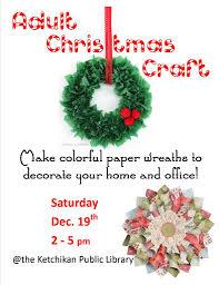 christmas craft u2013 ketchikan public library