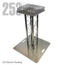 Dj Table Stand Dj Two 3ft High Tk8 Aluminum Box Truss Dj Stand