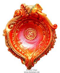 decorative bowls home decor diya terracotta ganesha big candle holder tea light discovered