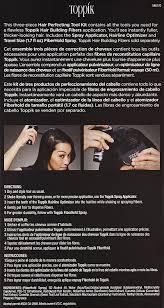 amazon com toppik hair perfecting tool kit luxury beauty