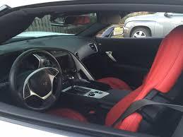 white corvette interior 2015 corvette 1lt arctic white with interior 8 speed auto
