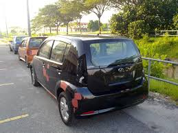 kereta audi hitam myvi cat luar warna asal hitam kristal 209