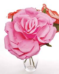 crepe paper roses u0026 video martha stewart