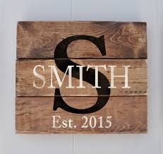 personalized home decor signs wedding gift personalized family name sign anniversary gift
