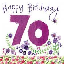 happy birthday 70 u0027 a happy 70th birthday card