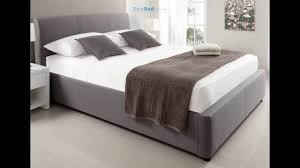 Grey Upholstered Ottoman Bed Serenity Upholstered Ottoman Storage Bed Grey
