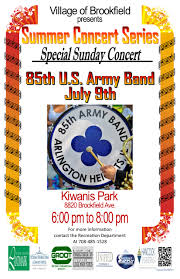 Brookfield Zoo Halloween Events 2015 by Special Sunday Concert The 85th U S Army Band Village Of