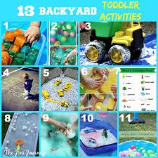the joni journey 13 outdoor toddler activities