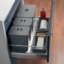 poubelle pour meuble de cuisine poubelle pour tiroir poubelles tiroirs coulissantes accessoires