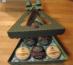 project center k cup coffee gift box christmas tree