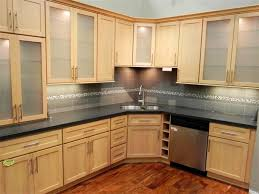 Backsplash Maple Cabinets Quartz Countertops Kitchens With Maple Cabinets Lighting Flooring