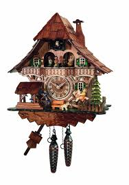 amazon com traditional cuckoo clock black forest house with