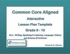 weekly lesson planning template to add the supplemental