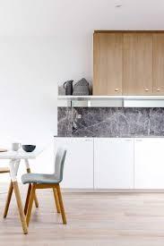 kitchen kitchen scandinavian style marble backsplash white flat