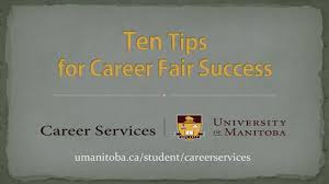 How To Prepare Resume For Job Fair by University Of Manitoba Student Career Services Career Fairs
