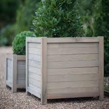 wooden garden planters hardwood garden planters spruce garden